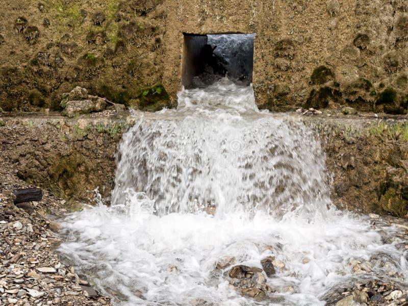 Voie d'eau, gestion ou conservation images libres de droits