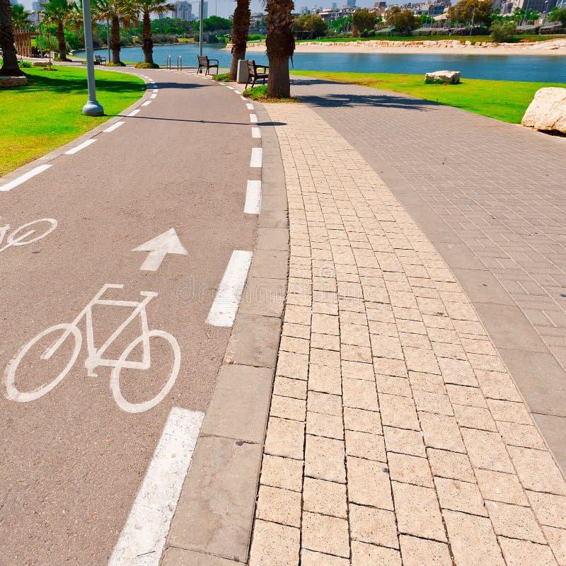 Voie de bicyclette photos libres de droits