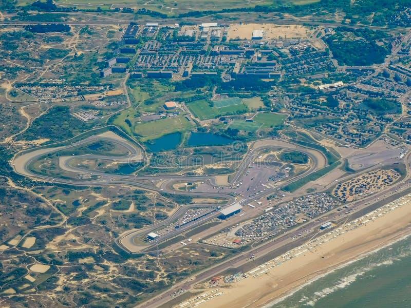 Voie de course de Zandvoort photos stock