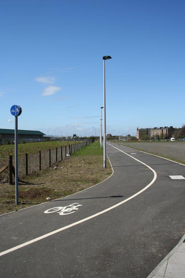 Download Voie de cycle image stock. Image du bicyclette, voie, signe - 728933