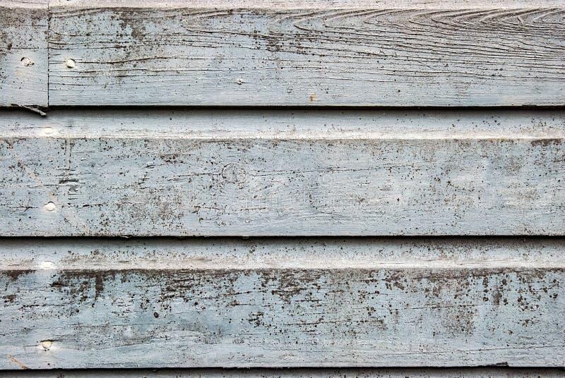 Voie de garage en bois âgée avec la peinture usée images stock