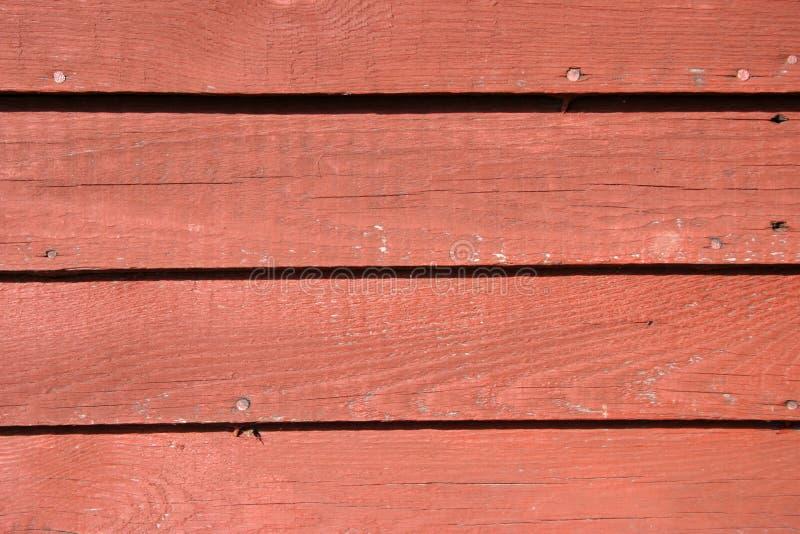 Voie de garage rouge photo stock