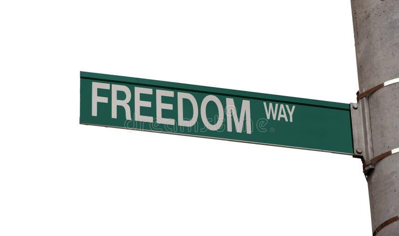 Voie de liberté images libres de droits