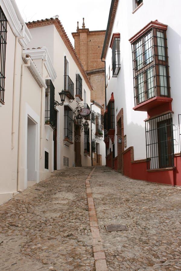 Voie en Espagne images stock