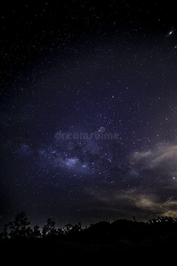 Voie lactée vue de Gopeng Perak Malaysia Asia image libre de droits