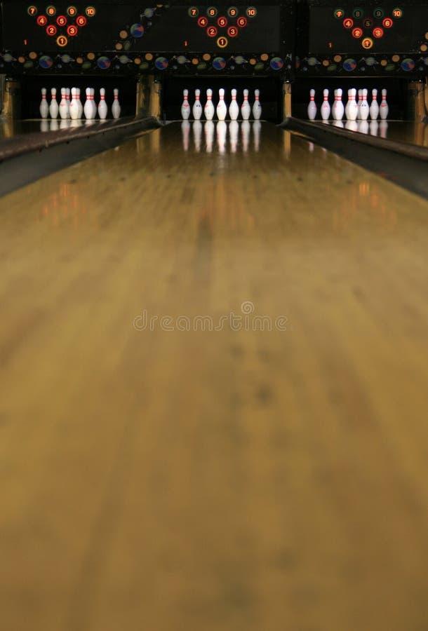 Voies #4 de bowling photos stock
