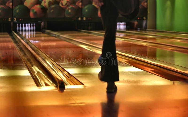 Voies de bowling photographie stock