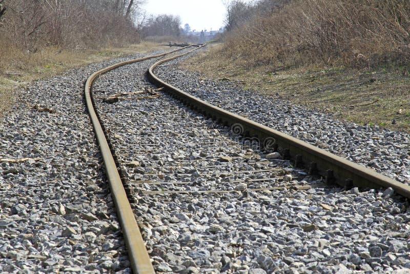 Voies de chemin de fer photographie stock libre de droits