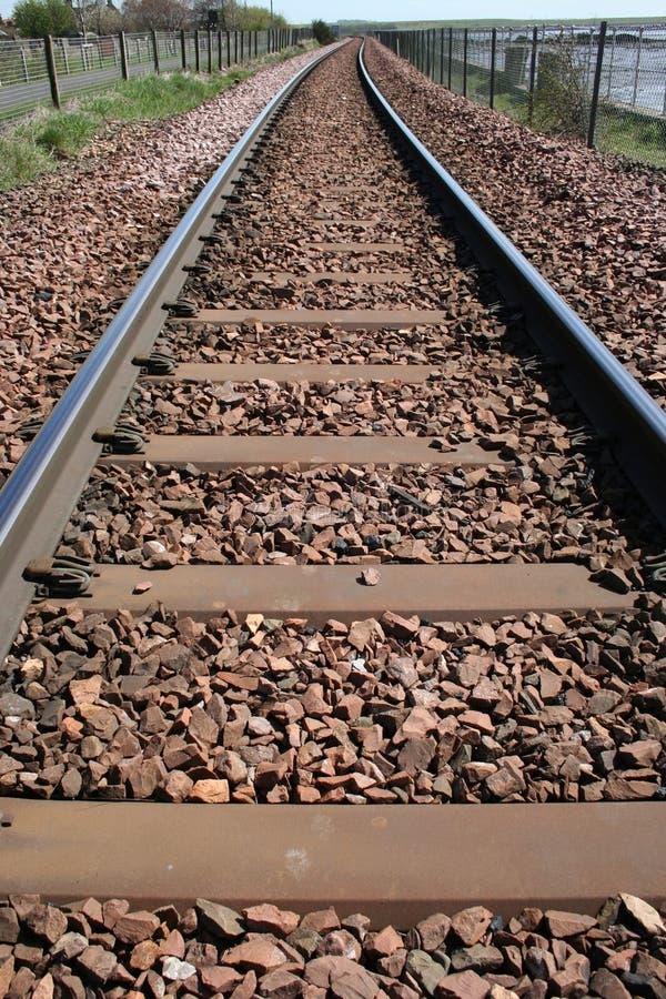 Download Voies de chemin de fer photo stock. Image du piste, railway - 727468