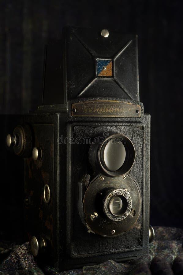 Voigtländer Brillant 1949 Vintage box camera Kalyan Nrat MumbaiMaharashtr royalty free stock images