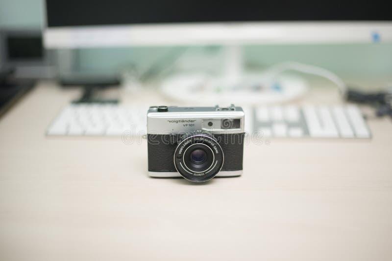 Voigtlandervf101 camera stock fotografie