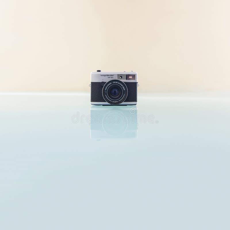 Voigtlandervf101 camera stock afbeelding