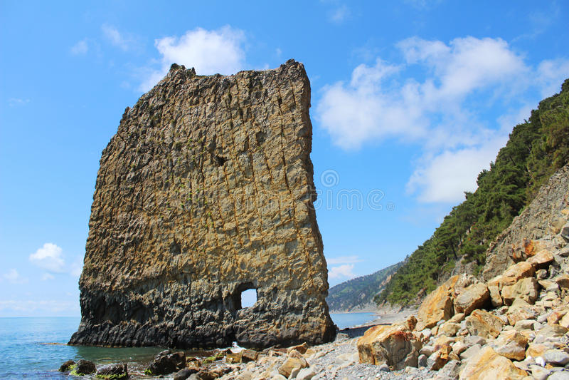 voile de roche photo libre de droits