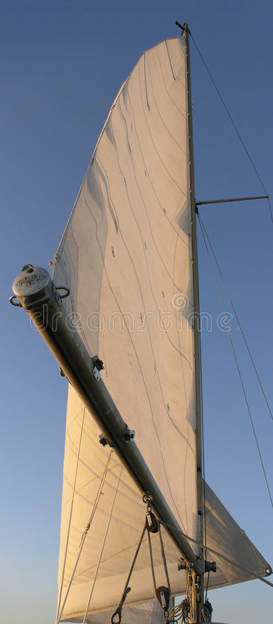 Voile simple photos stock