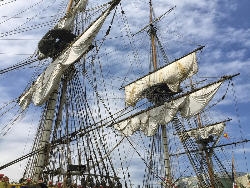 voiles image stock