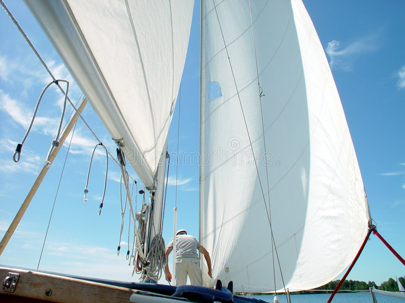 Voiles photographie stock