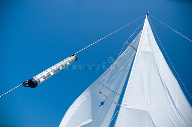 Voiles de yacht photos libres de droits