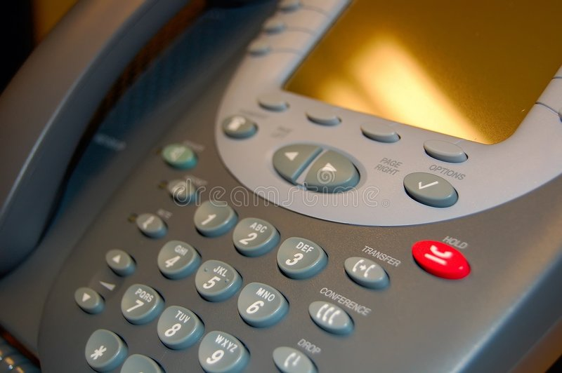VOiP Telephone royalty free stock photography