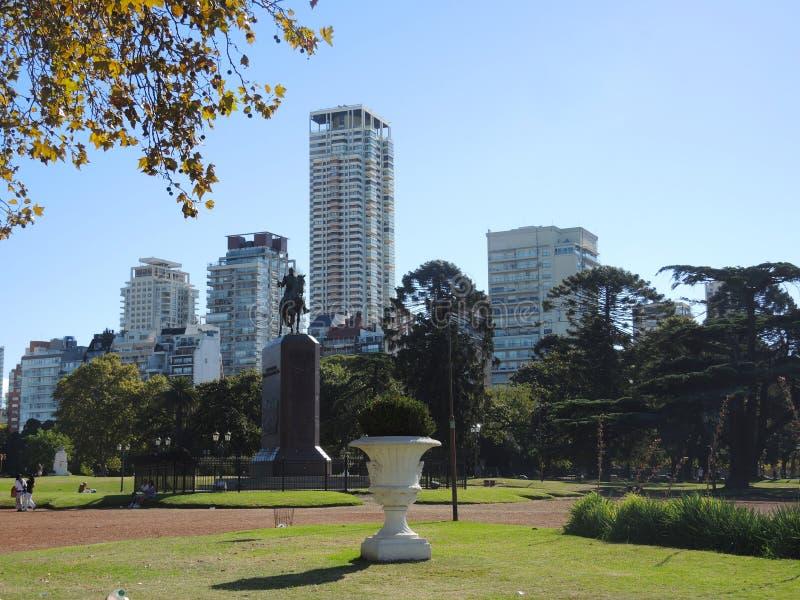 Voisinage de Palerme à Buenos Aires. images libres de droits