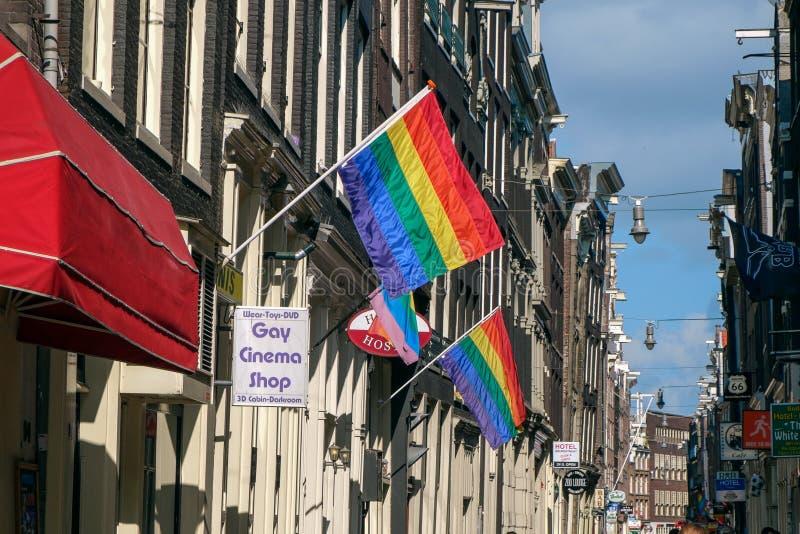 Voisinage gai photographie stock libre de droits