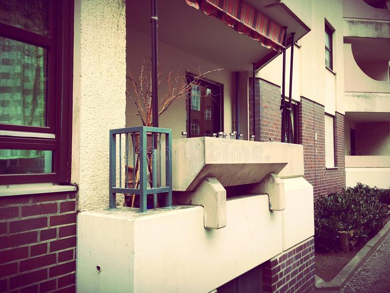 Voisinages résidentiels à Berlin, Allemagne photos libres de droits