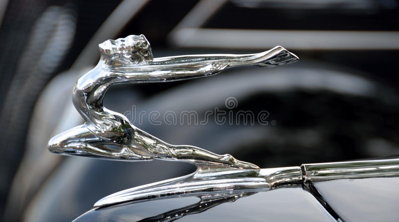 Voiture ancienne Hood Ornament photos stock