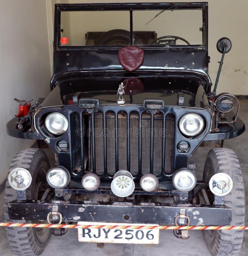 Voiture antique de Rolls Royce de voiture de Ford Car/berline de Cadillac image libre de droits