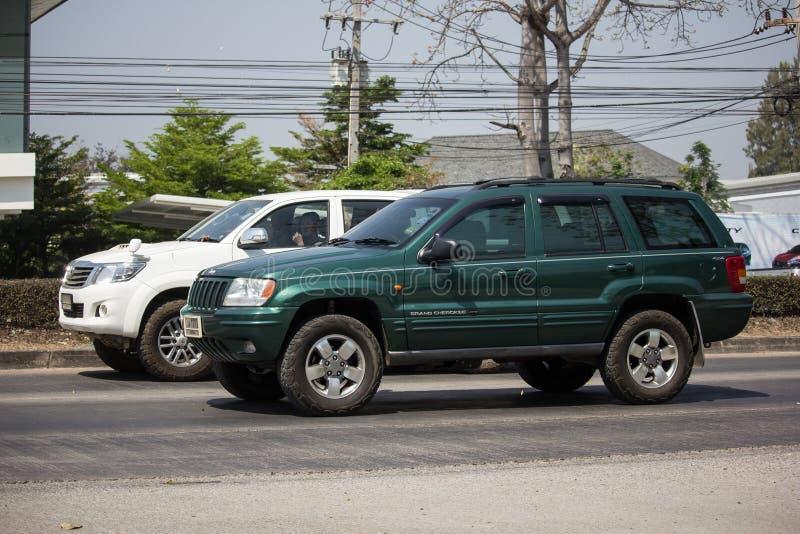 Voiture cherokee privée de la jeep 4X4 images stock