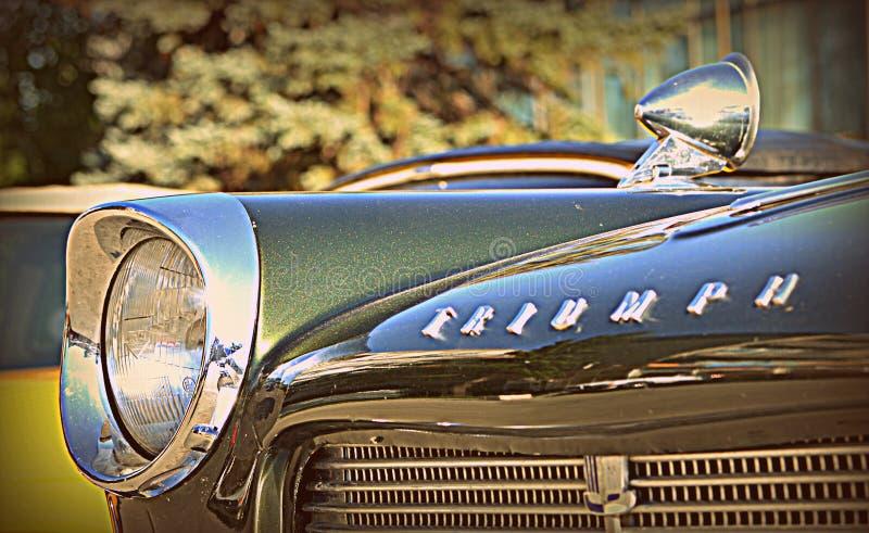 Voiture classique Triumph images stock