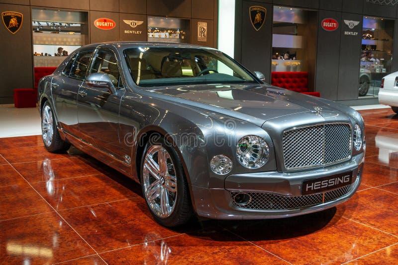 Voiture de Bentley Continental GT images stock