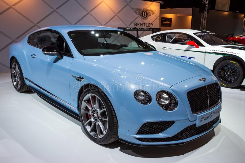 Voiture de Bentley Continental GT V8S photos stock