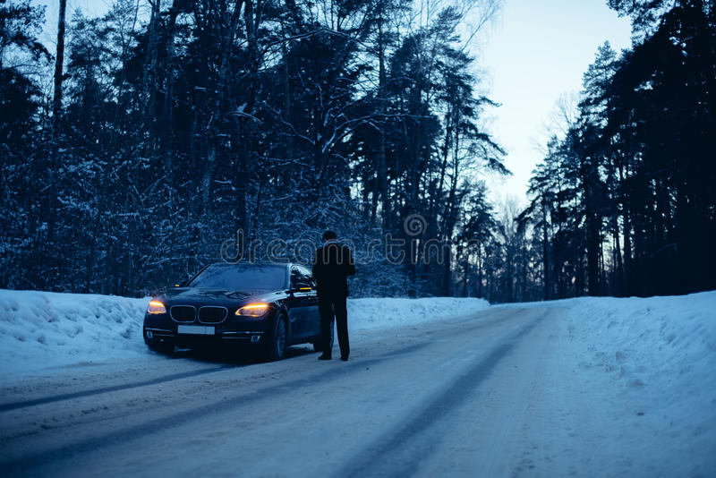 Voiture de BMW photo stock
