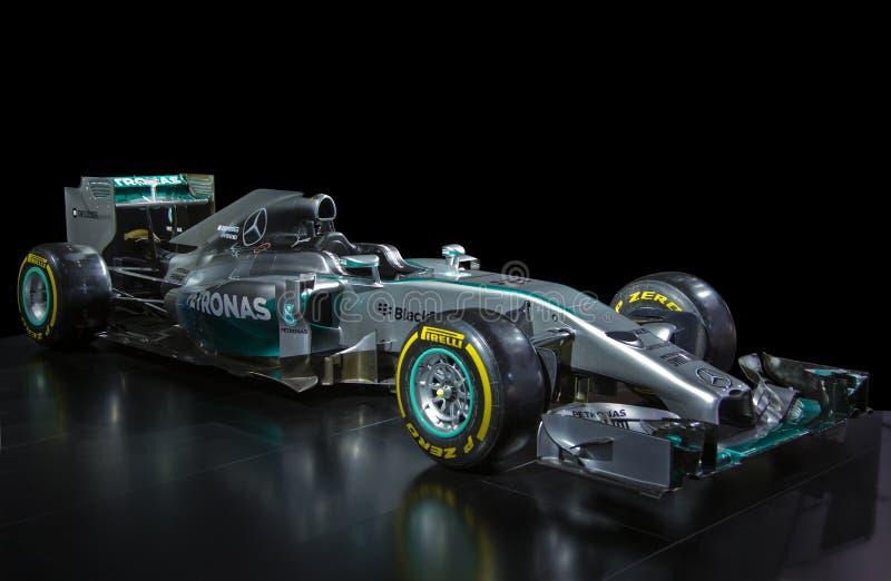 Voiture de championnat du monde F1 photo stock