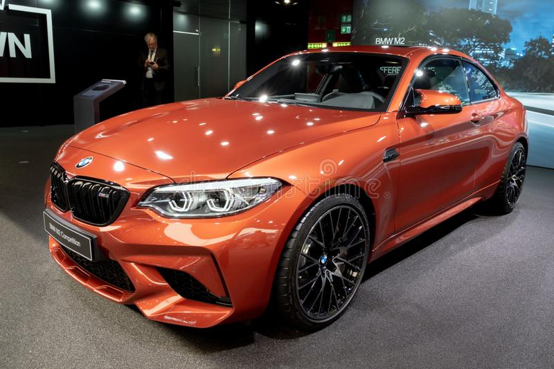 Voiture de concurrence de BMW m2 photos libres de droits
