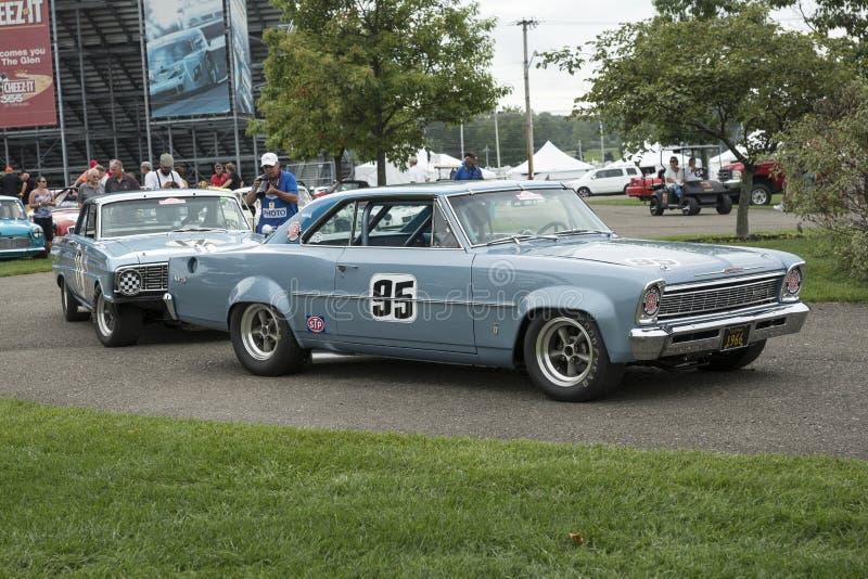 Voiture de course de Chevy image stock