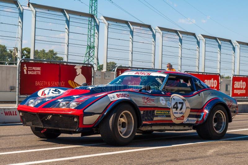 Voiture De Course Classique De Chevrolet Corvette