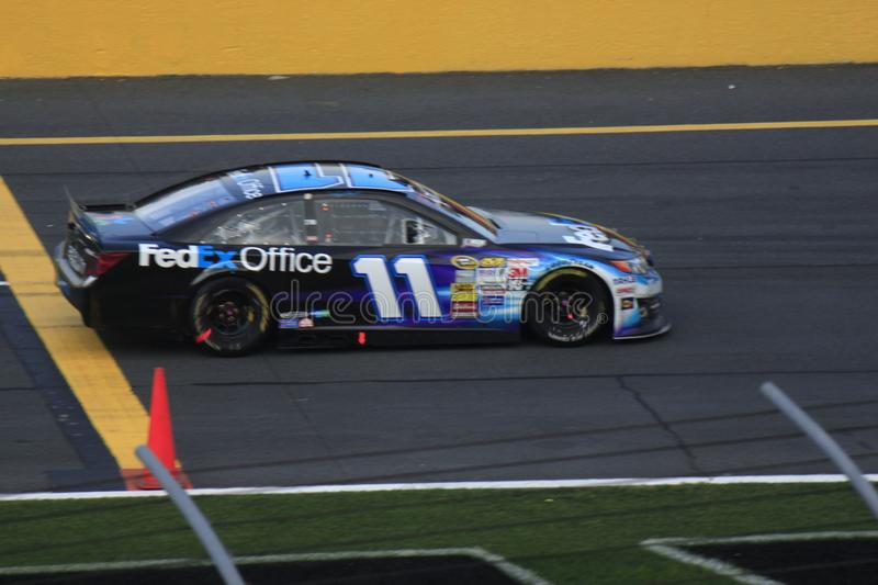 Voiture de course de Denny Hamlin photo libre de droits