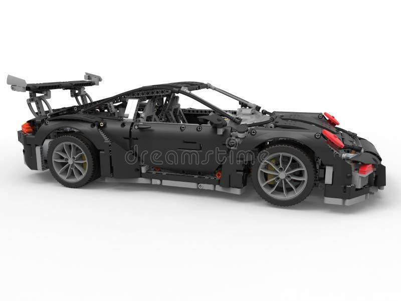 Voiture de course de LEGO illustration stock