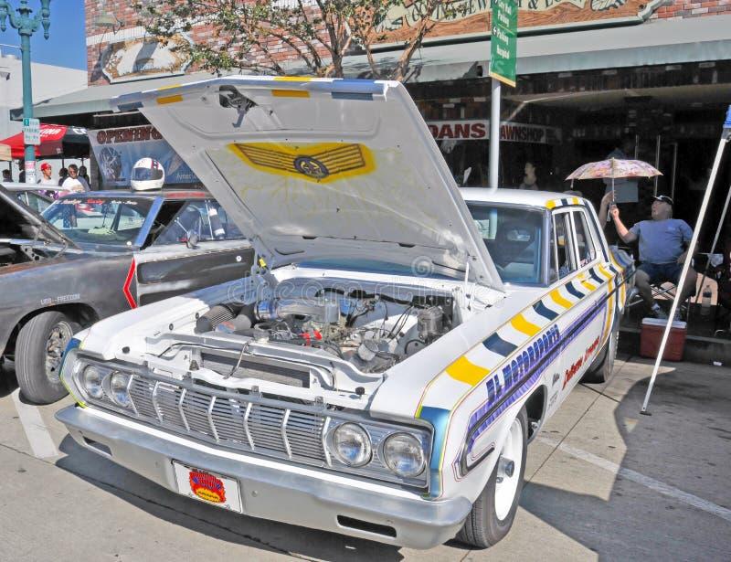 Voiture de course de Plymouth images stock