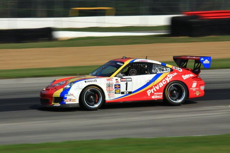 Voiture de course de Porsche 991 photo stock