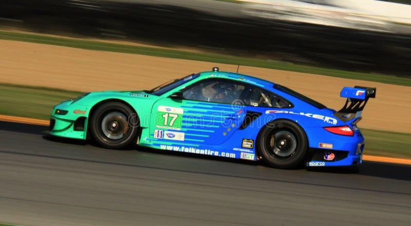 Voiture de course de Porsche 911 GT3 RSR photographie stock libre de droits