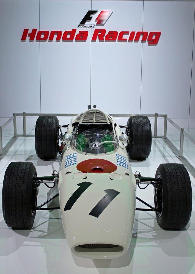 Voiture de course de Honda F1 photo stock