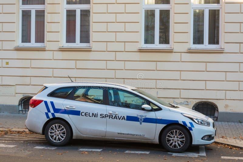 Voiture de fonction de bureau de douane tchèque photo libre de droits