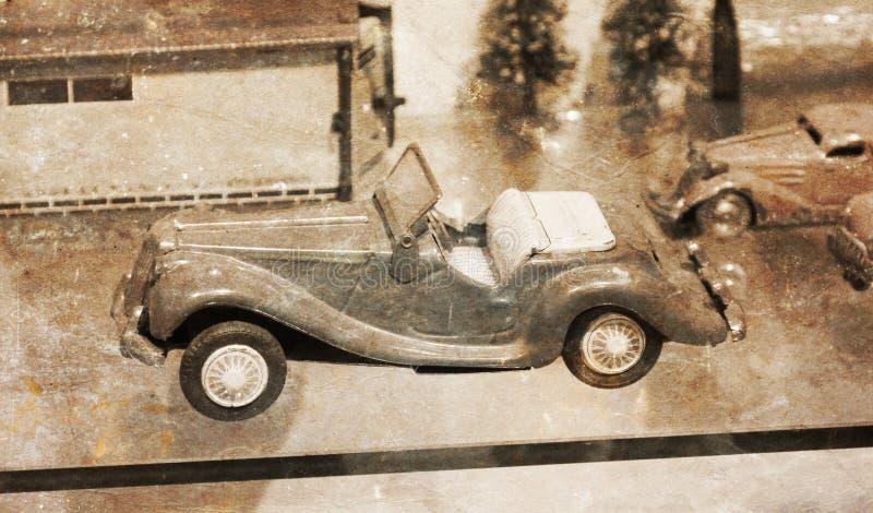 Voiture de jouet de vintage photographie stock libre de droits