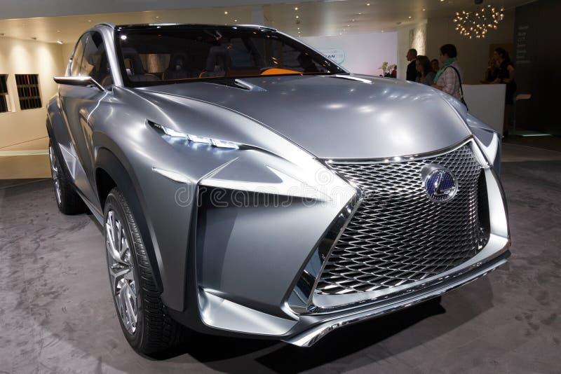 Voiture de Lexus LF-NX photos stock