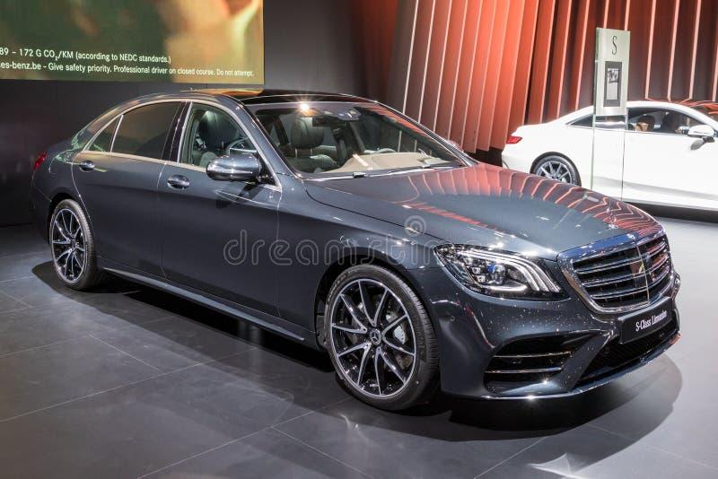 Voiture de limousine de Mercedes Benz S photographie stock