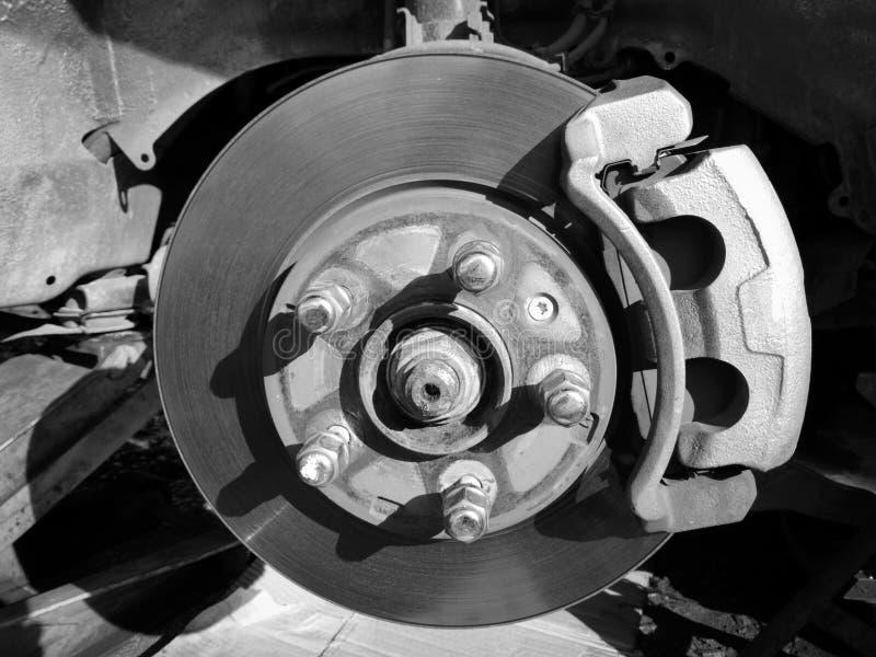 Voiture de service de freins à disque images libres de droits