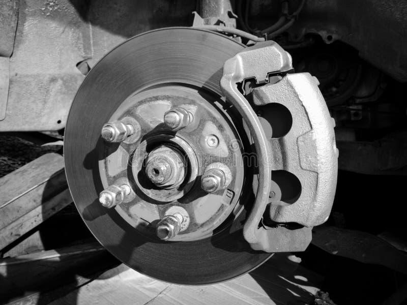 Voiture de service de freins à disque photos stock