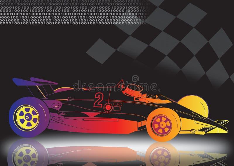 voiture de sport illustration stock