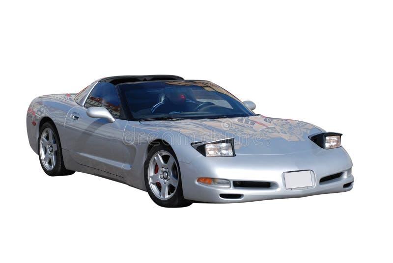 Voiture de sport convertible image stock